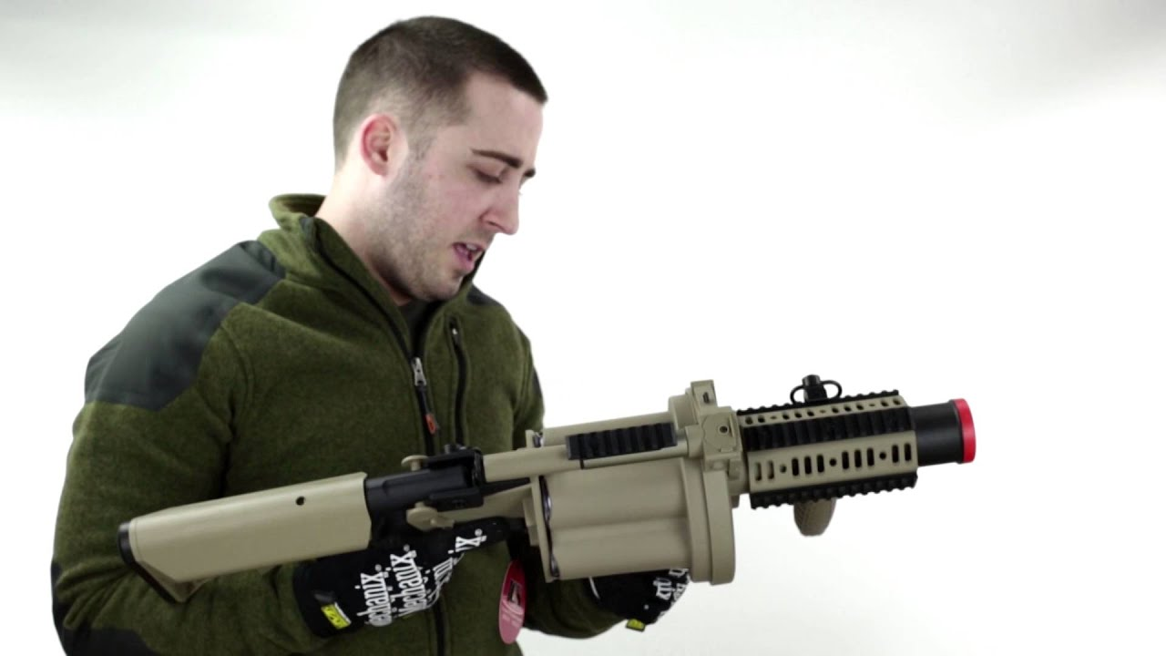 ICS GLM 6-Round Airsoft Grenade Launcher Review