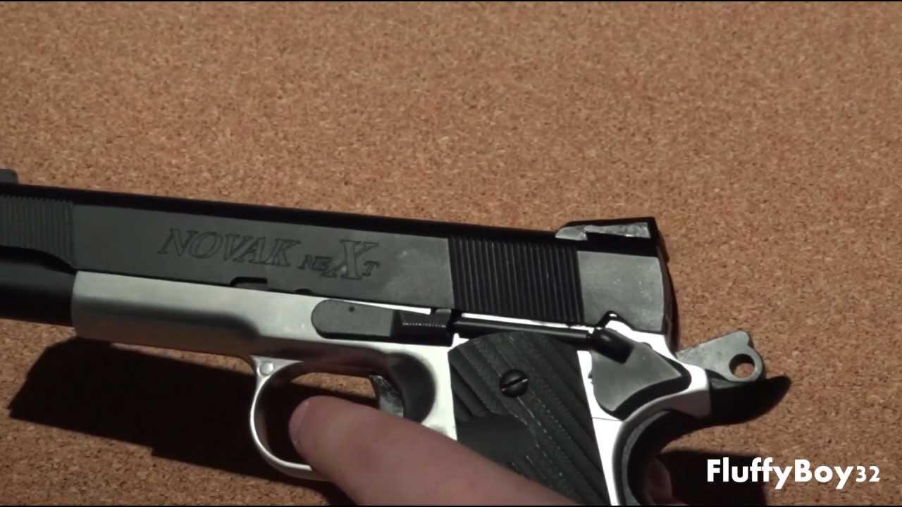 Revue du pistolet à essence SOCOM Gear Two Tone Novak NeXt 1911 Airsoft