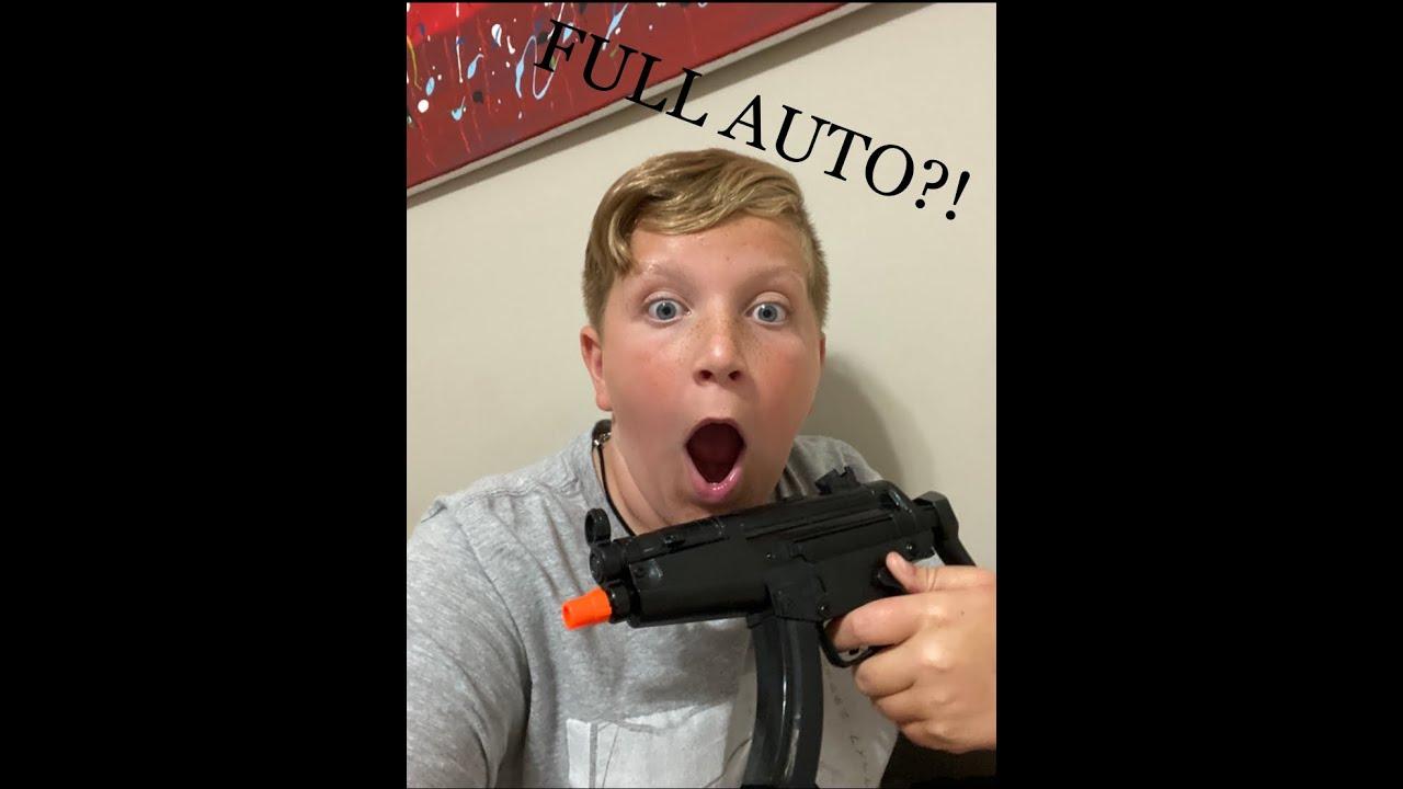 HFC Mini MP5 Airsoft Review (Ma première auto complète)