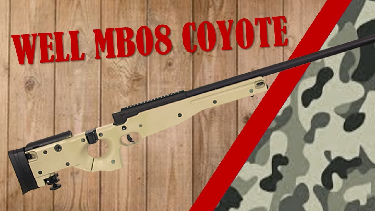 AIRSOFT REVIEW  WELL MB08 COYOTE