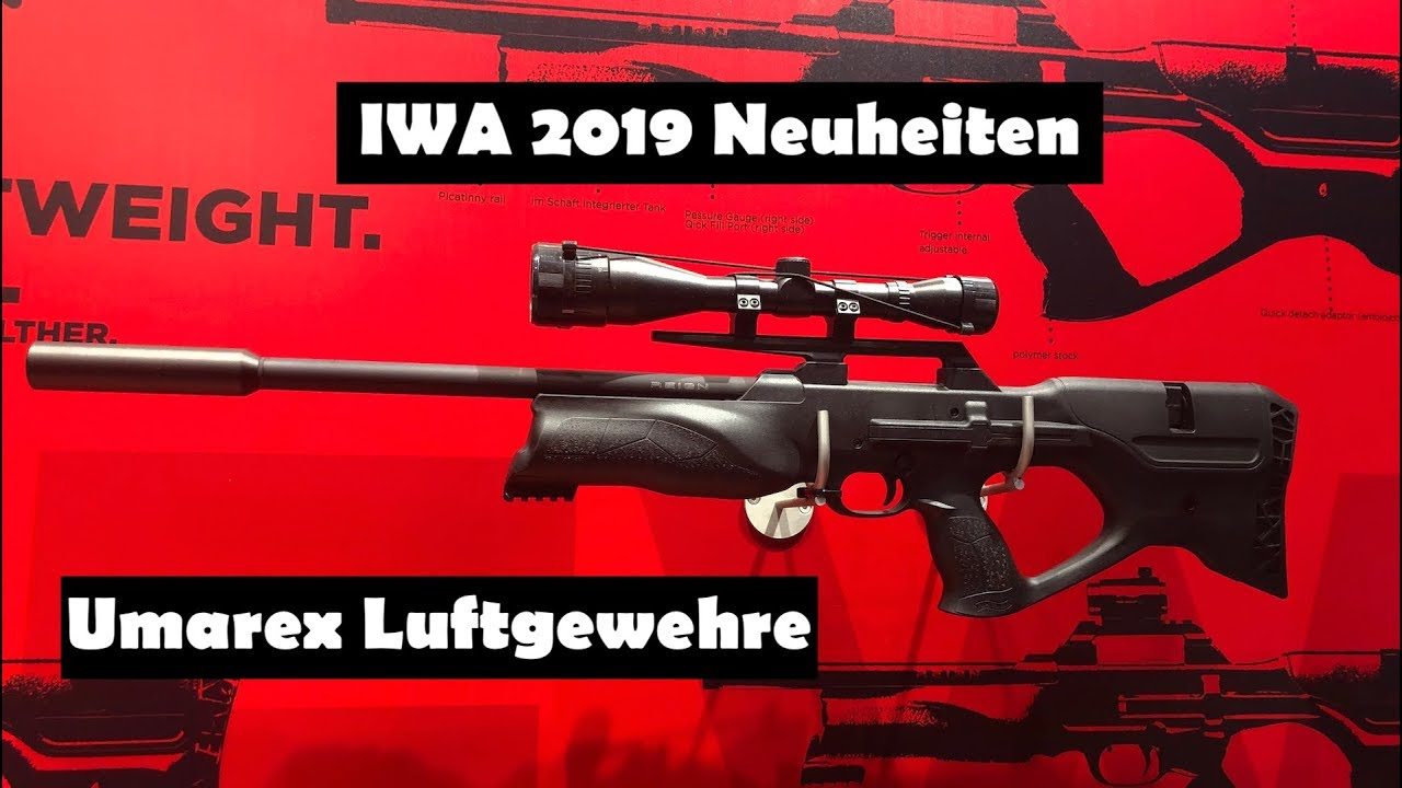 IWA 2019 – Innovations de la carabine à air Umarex