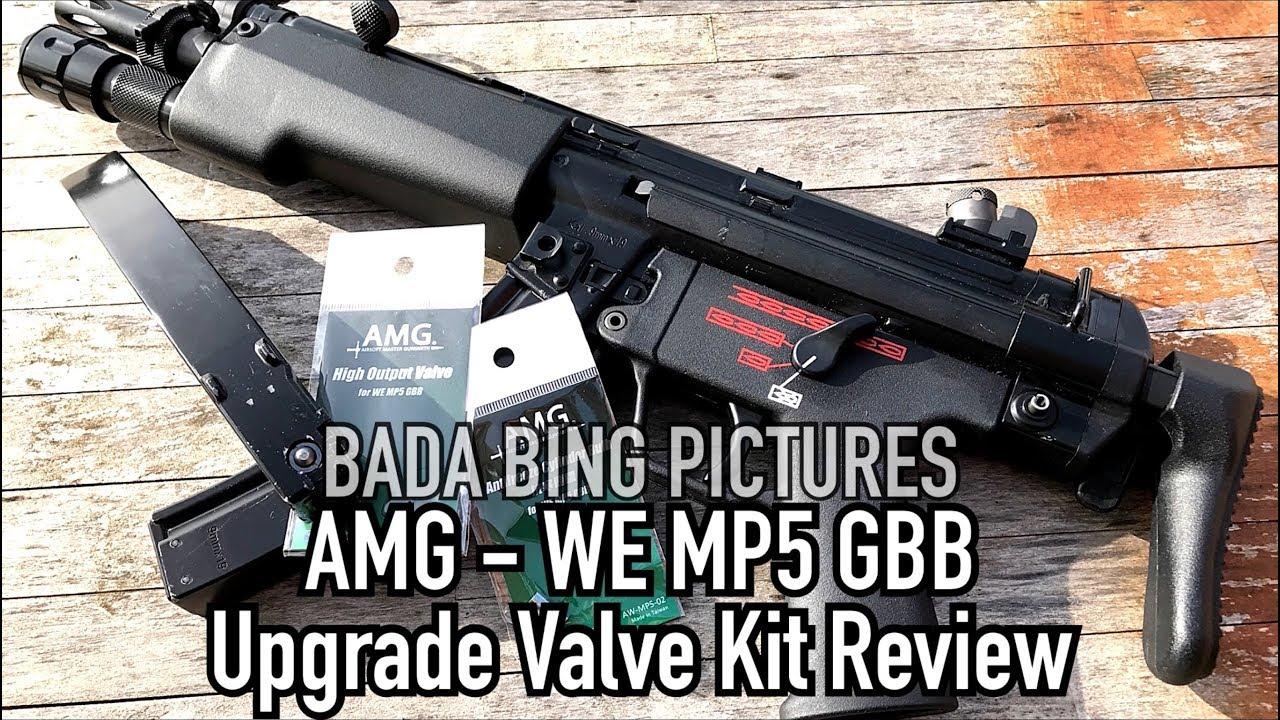 WE MP5 GBB – Examen du kit de mise à niveau AMG