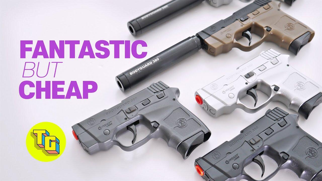 Smith & Wesson BODYGUARD 380 AIRSOFT BB EXAMEN DU PISTOLET l Jouets réalistes pistolets répliques de pistolets