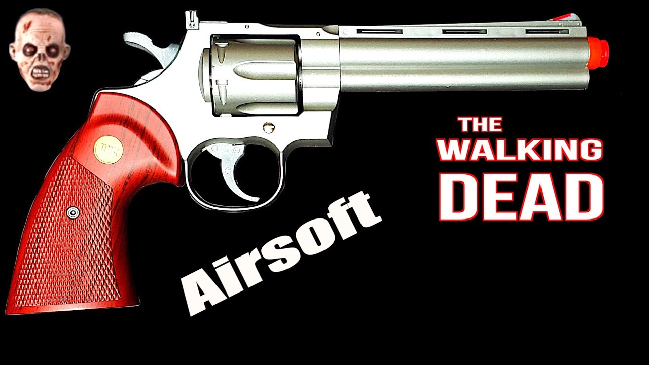 Walking Dead Airsoft Gun!