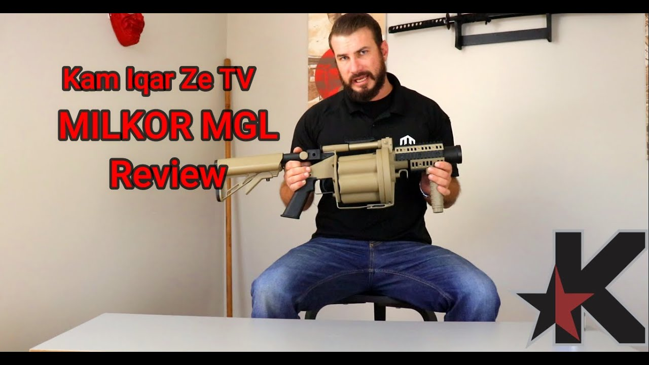 Examen du Gel Blaster Milkor MGL (Multiple Grenade Launcher)