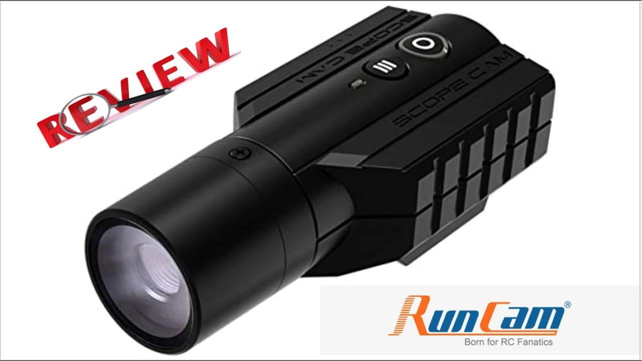Examen de la Runcam Scopecam Lite. Caméra Zoom Airsoft Budget