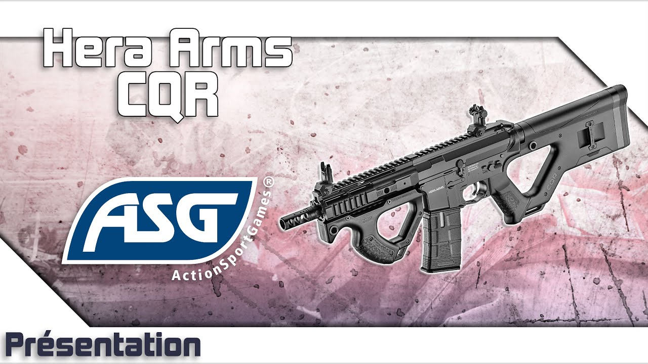 [CQR Hera Arms – ASG] Présentation | Review | Airsoft FR – EN subs