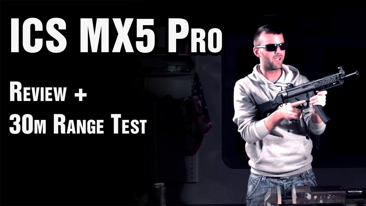 Avis Airsoft ICS MX5 Pro (MP5) – EpicAirsoftHD