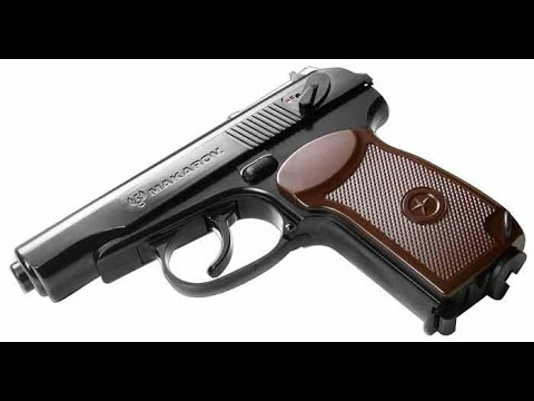 Galaxy G29 Makarov Full Metal Spring Airsoft [Unboxing+Review] (PT / BR)