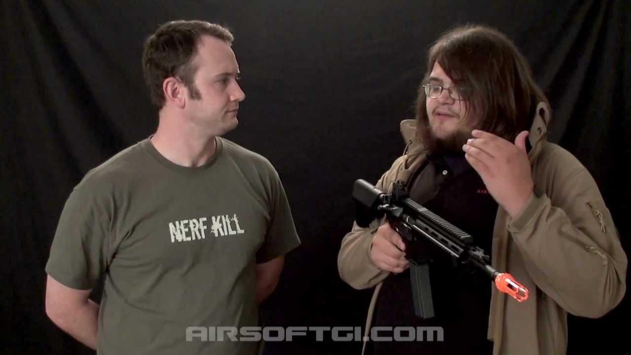 Airsoft GI – Examen de la carabine G&G Top Tech Full Metal TR4-18 avec Bob Hildebrand
