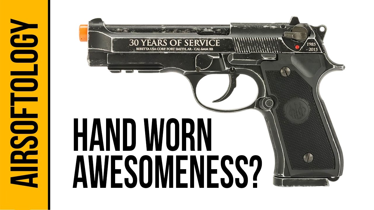 Beretta 30th Anniversary M92 A1 Limited Edition | Revue Airsoftology 2 minutes