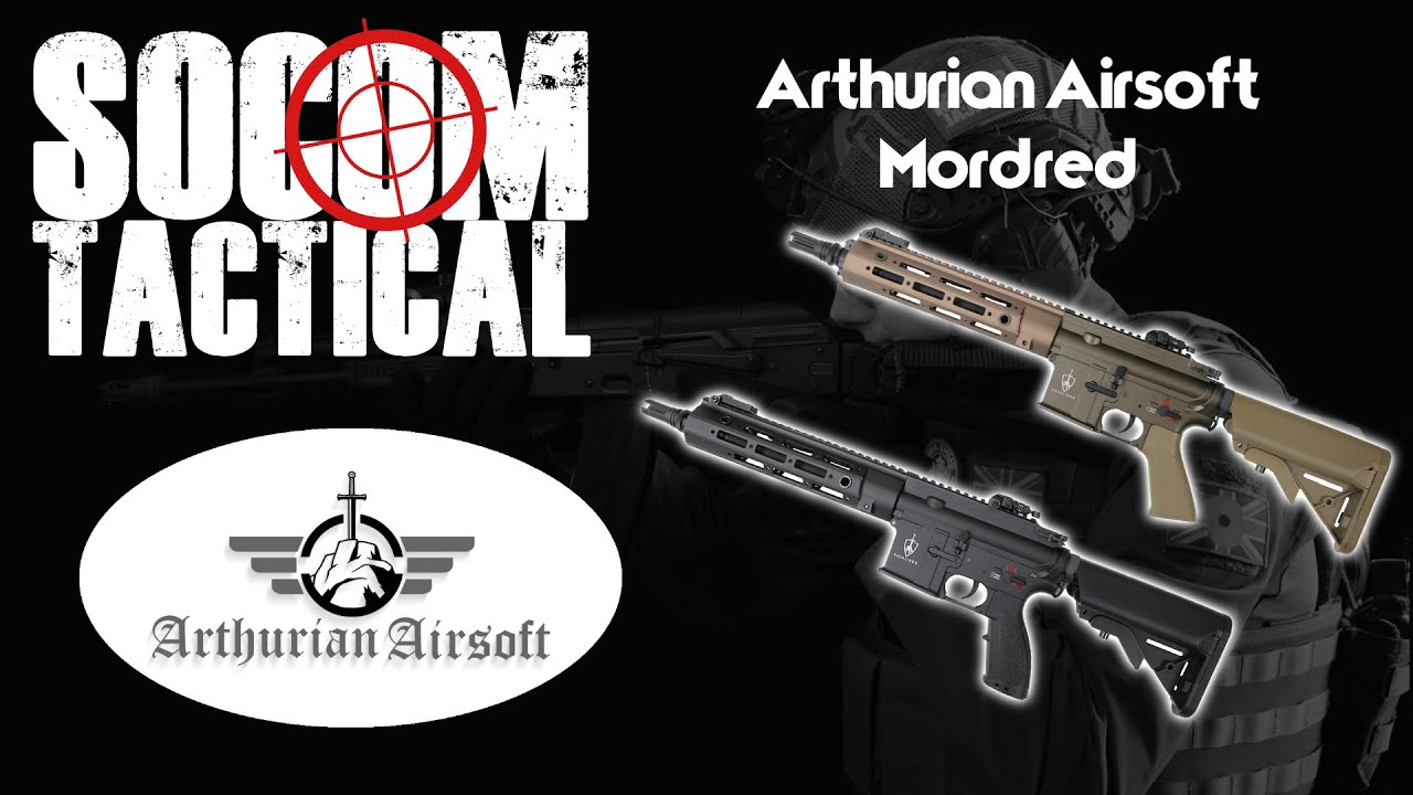 Revue Arthurian Airsoft Mordred