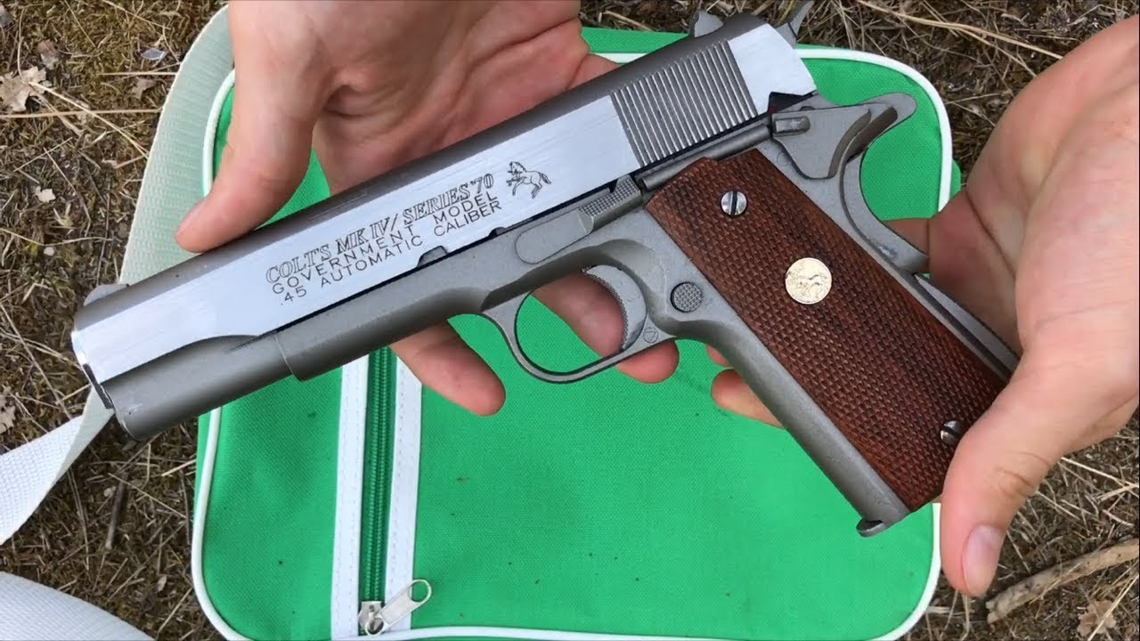 (Airsoft) Colt 1911 mk4 series70 government (FR)
