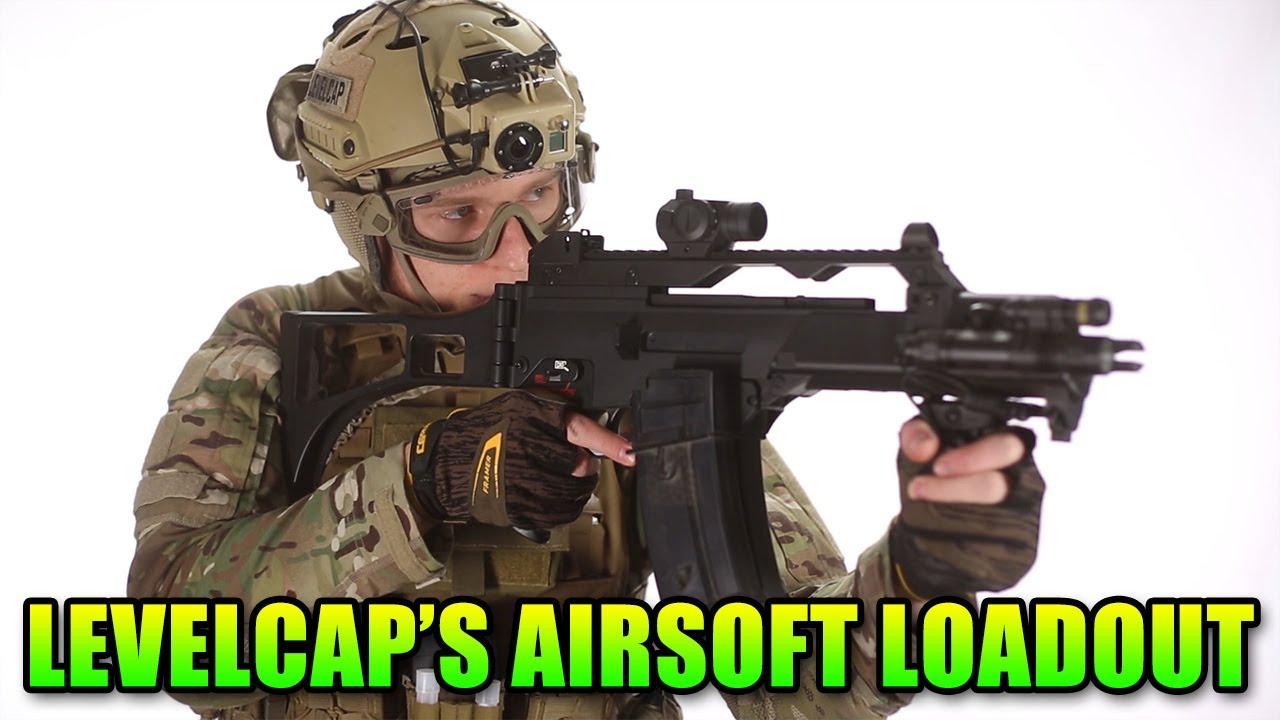 Équipement Airsoft de LevelCap: équipement total de la tête aux pieds (Airsoft GI)