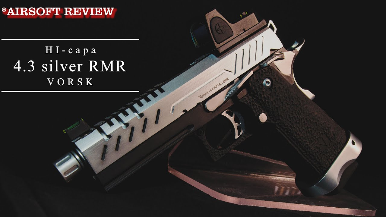 [AIRSOFT REVIEW] VORSK HI-CAPA 4.3 SILVER RMR