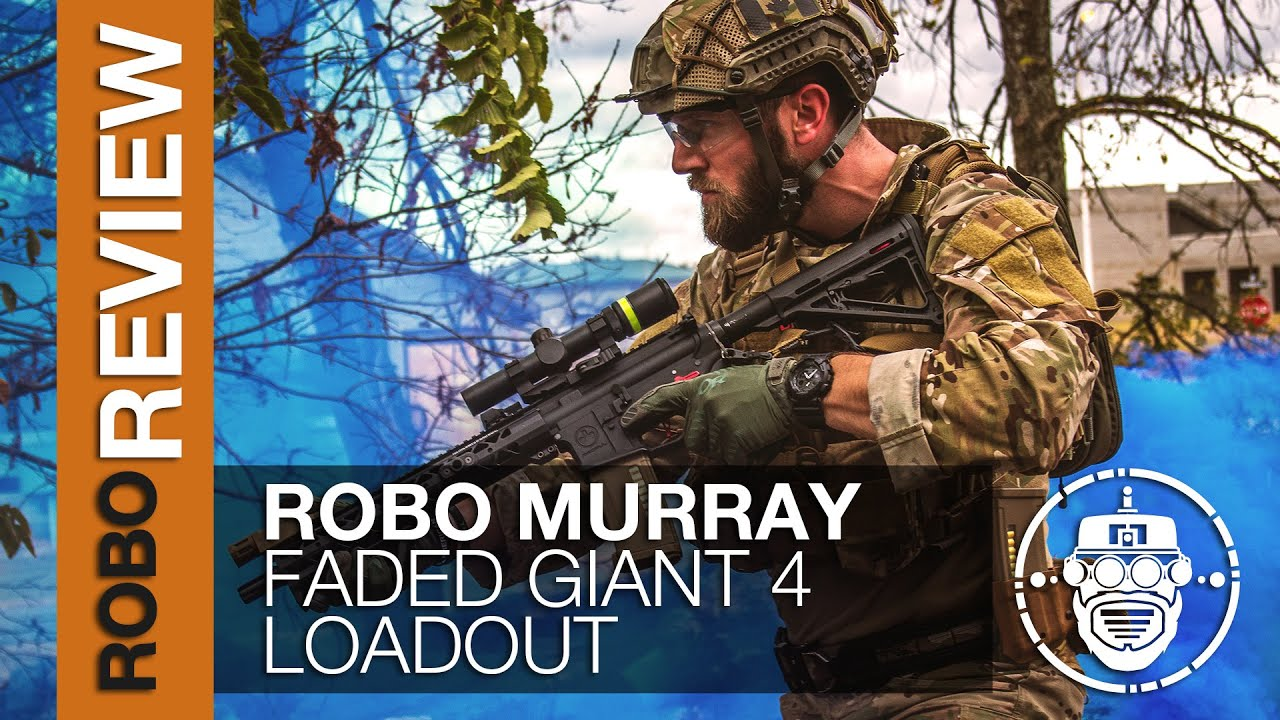Robo-Airsoft: Robo Gear Review – Mon kit / équipement Faded Giant 4