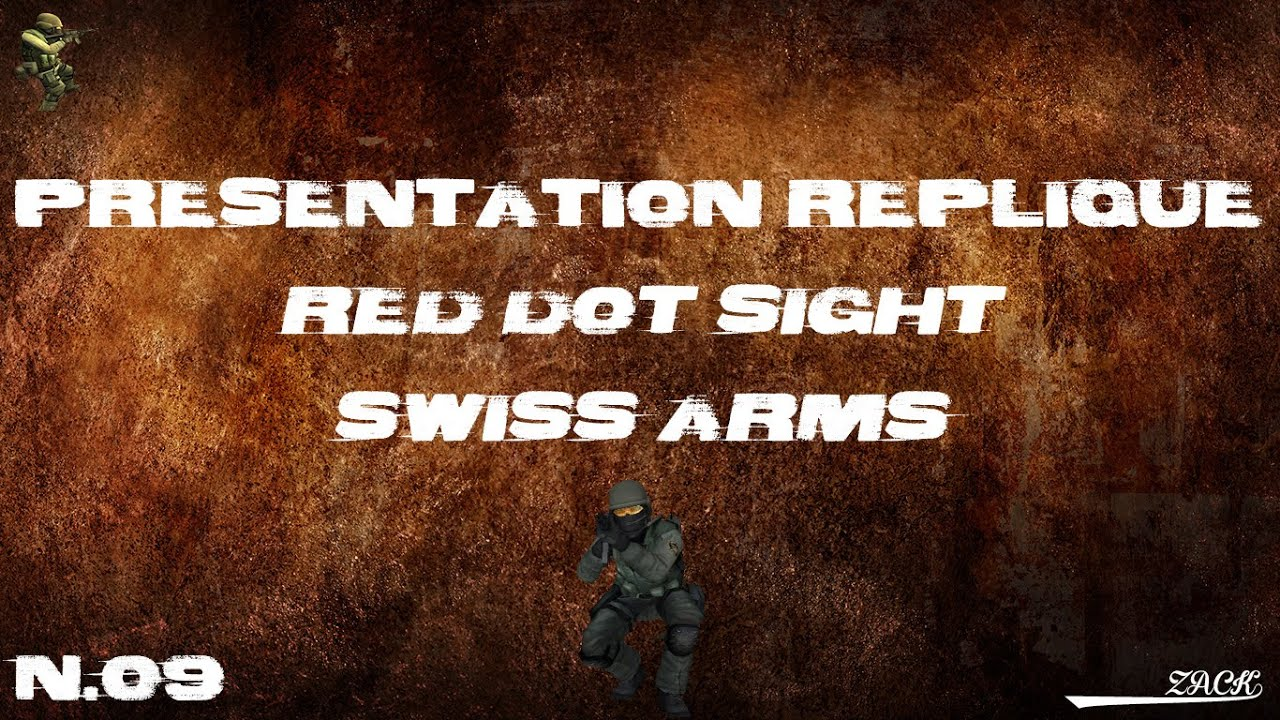 AirSoft Review #9 – Red Dot Sight – Swiss Arms – [FR]