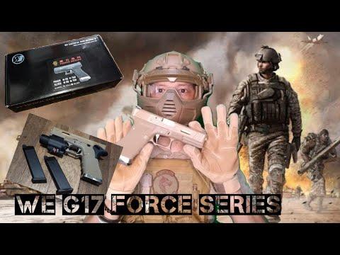 WE Glock 17 Force Series Airsoft Review # glock17gforce # weglock17gforce