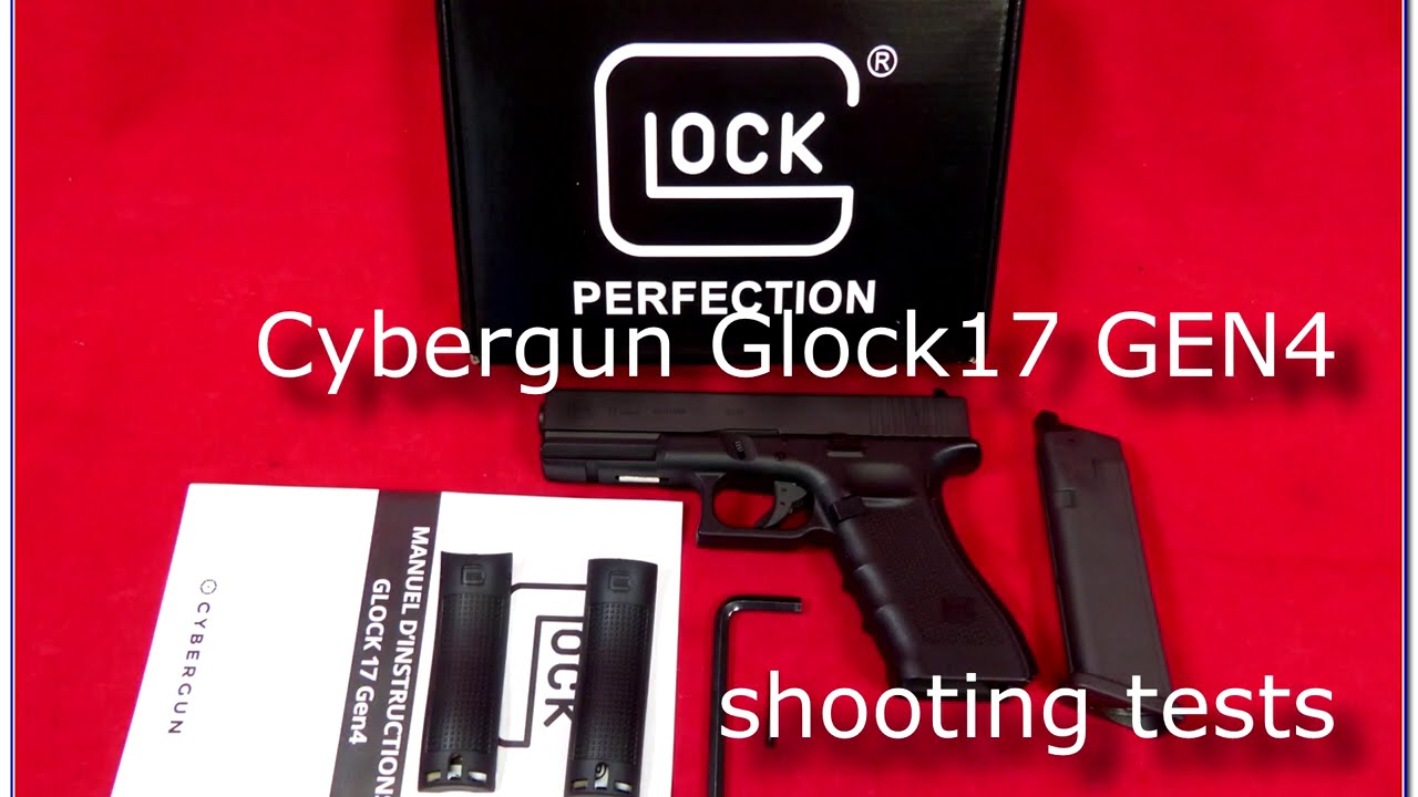 Airsoft – Cybergun/KWC-Glock17 GEN4 shooting tests.