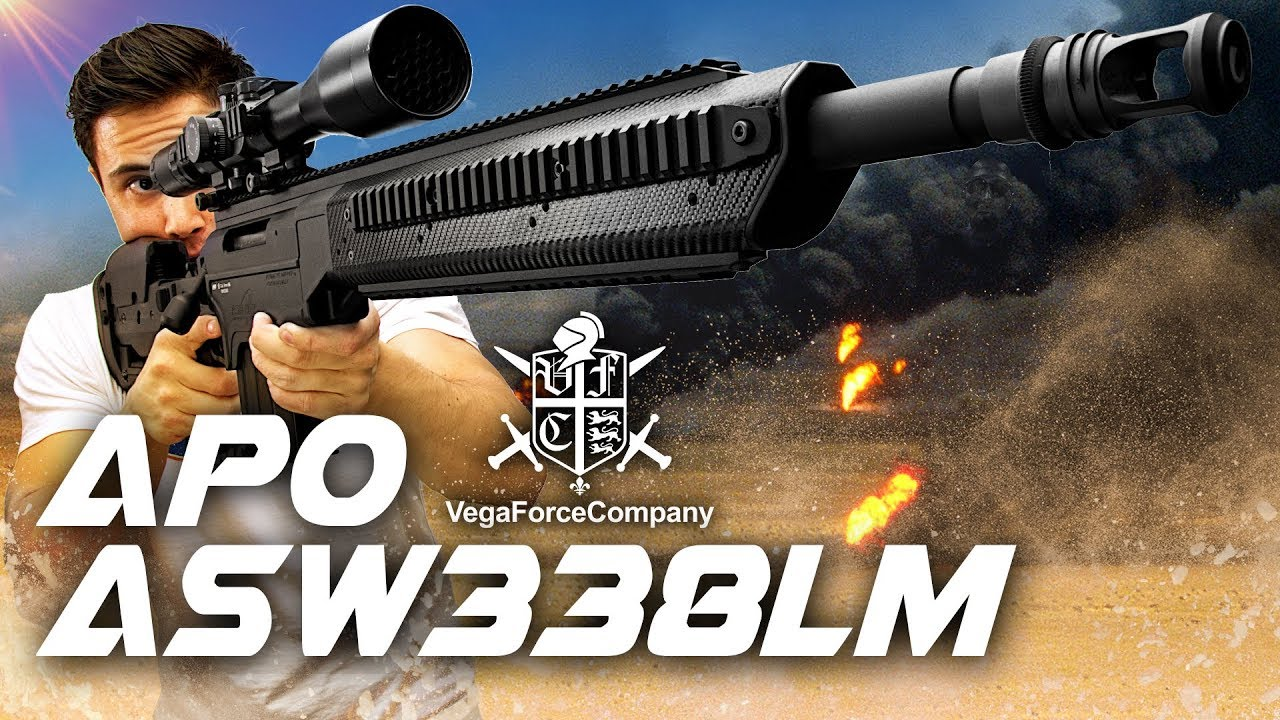 Blast from the Past: Fusil de précision APO ASW338LM – RedWolf Airsoft RWTV