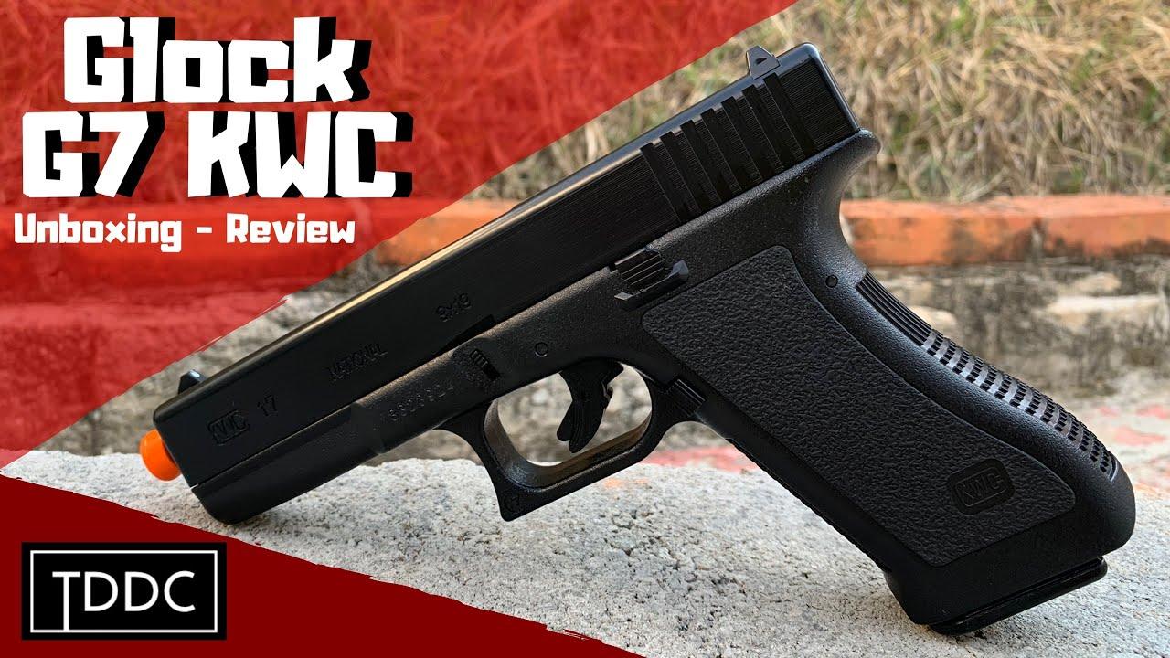 KWC Glock G7 Spring 6mm Airsoft Pistol Bon et pas cher – Unboxing / Review