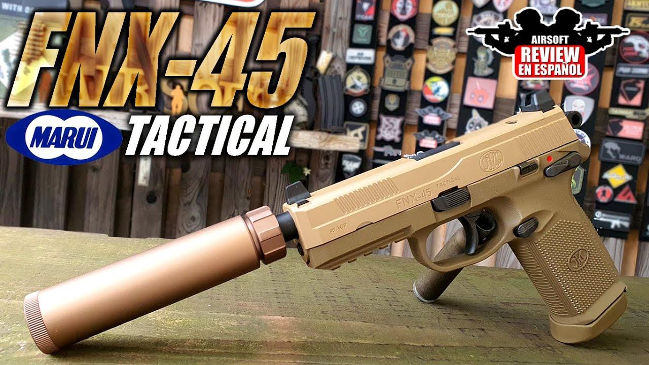 TOKYO MARUI FNX-45 le meilleur pistolet que j'ai essayé aujourd'hui! | Revue Airsoft en espagnol
