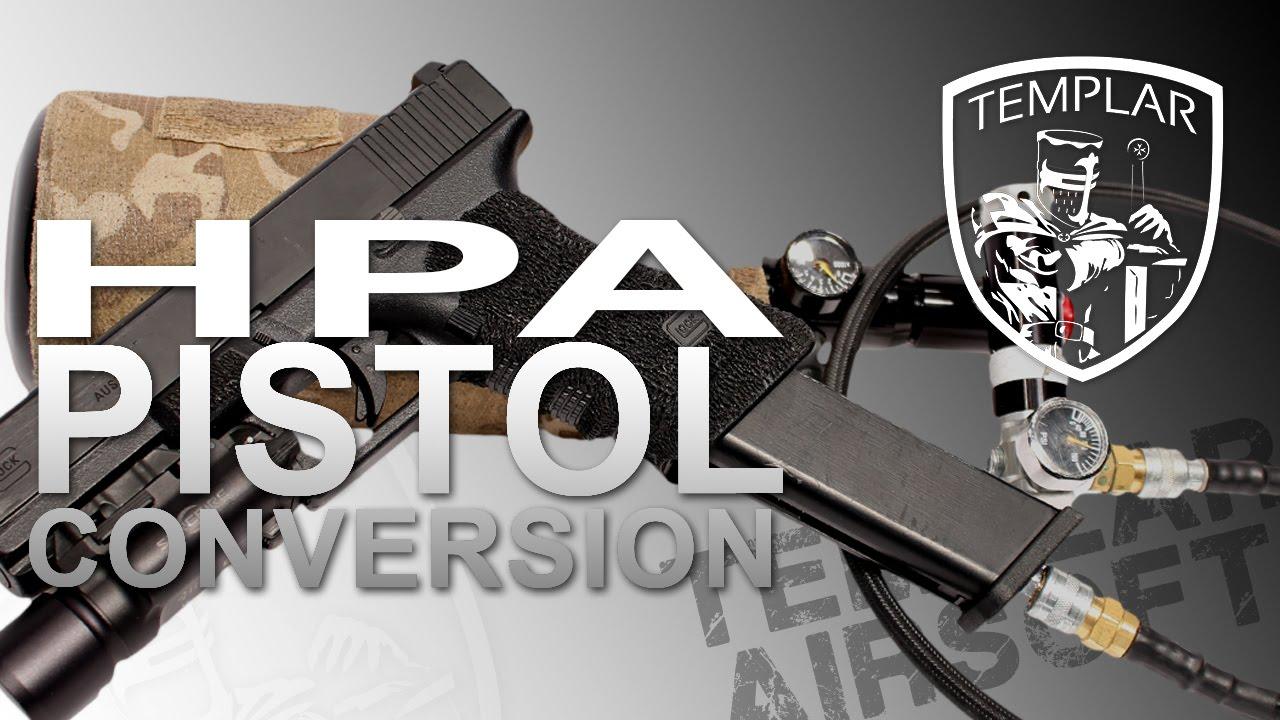 Examen du pistolet HPA | Templier Airsoft
