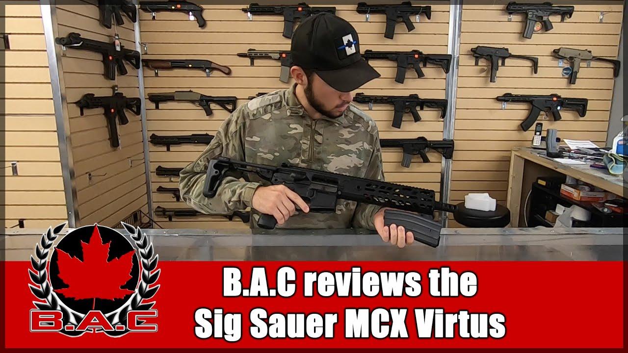 | B.A.C Airsoft teste le Sig Sauer MCX Virtus | FR