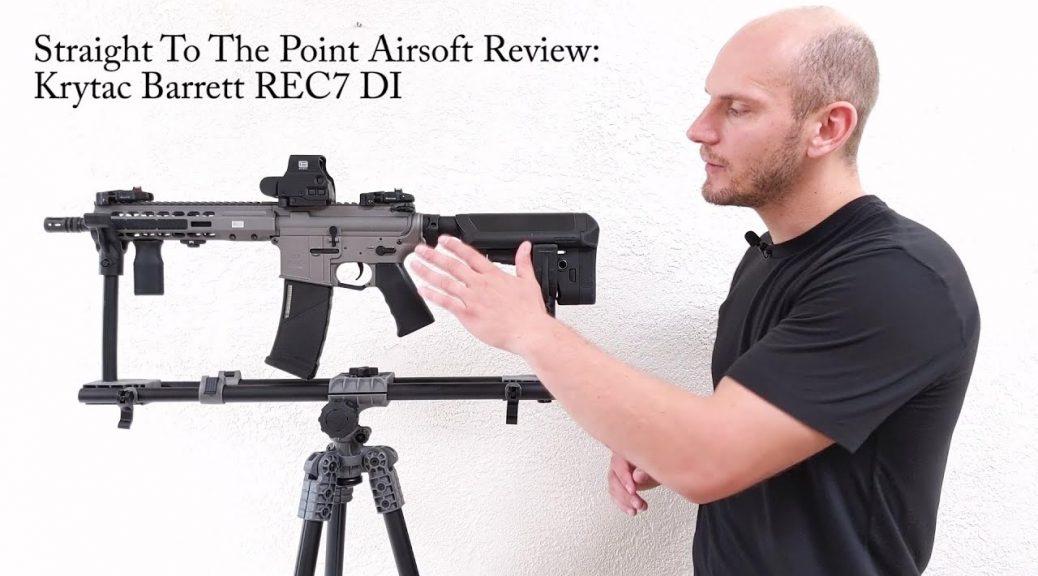 Krytac Barrett REC7 DI Airsoft Review - Airsoft Factory