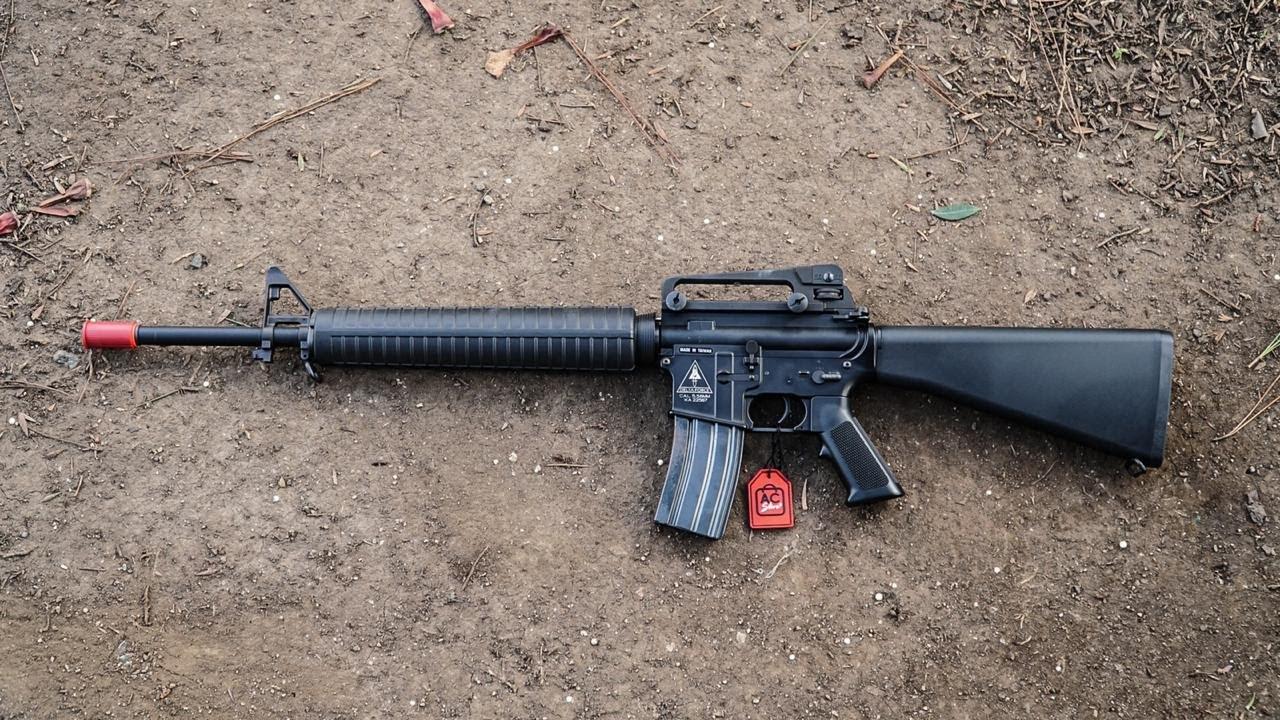 M16 KWA AIRSOFT – EXAMEN