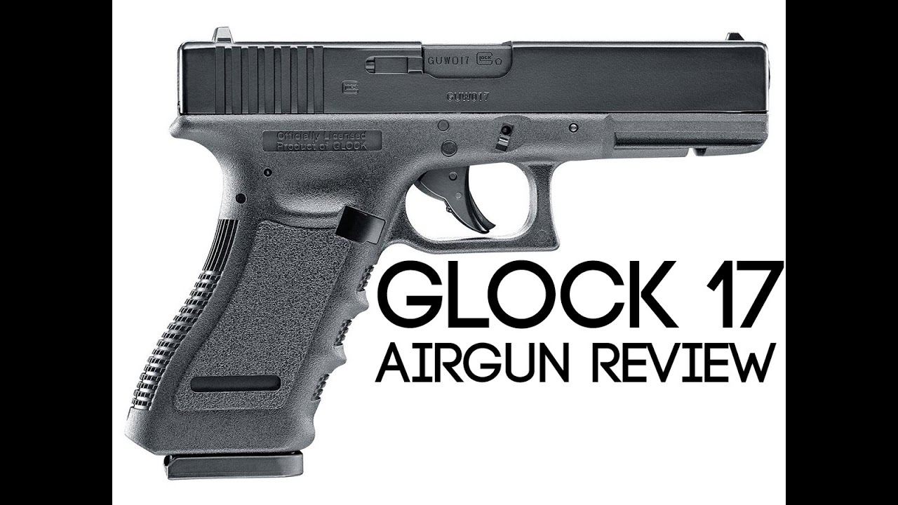 Umarex Glock 17 Blowback .177 Calibre BB Gun Airsoft Pistol Review