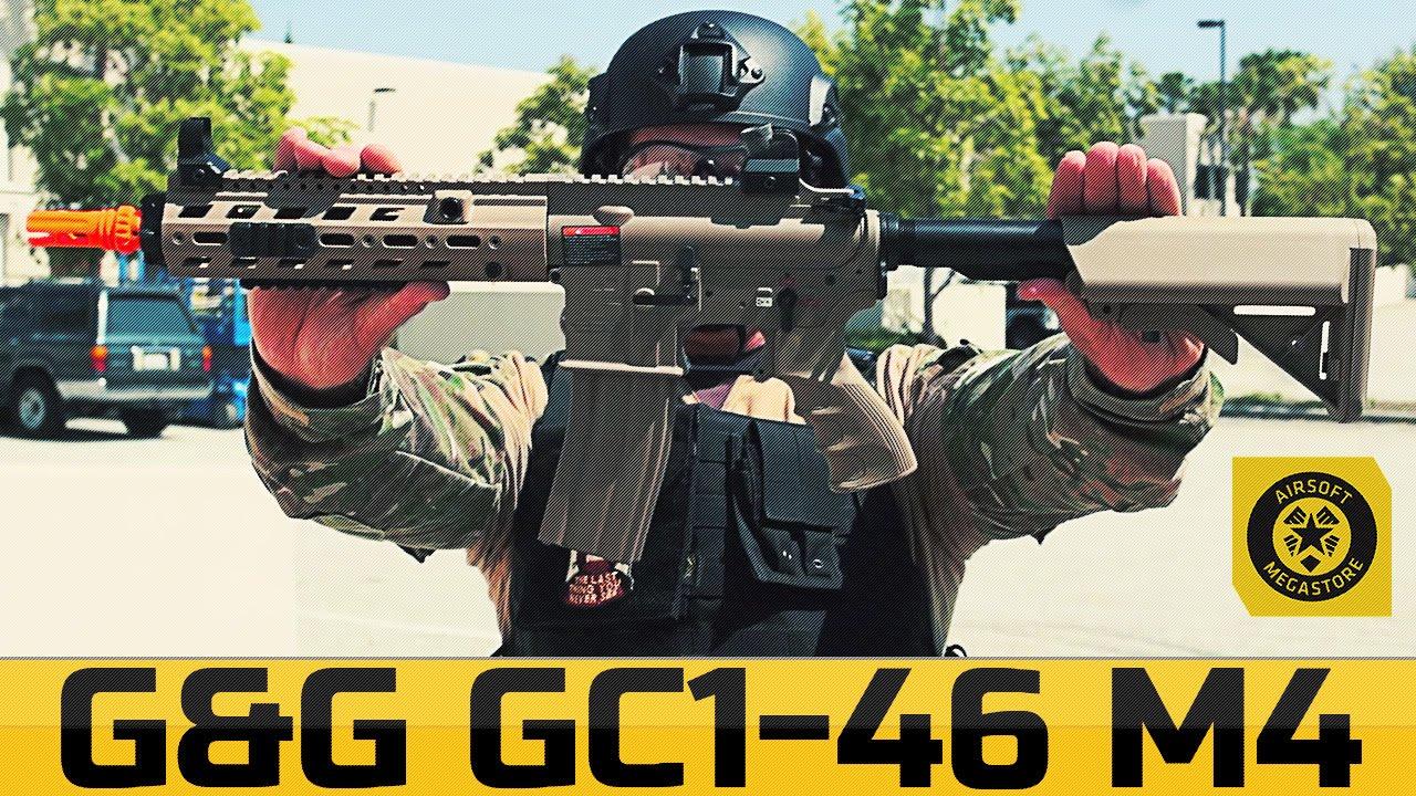 G&G GC1-46 M4 – CQB prêt dès la sortie de la boîte! | Airsoftmegastore.com