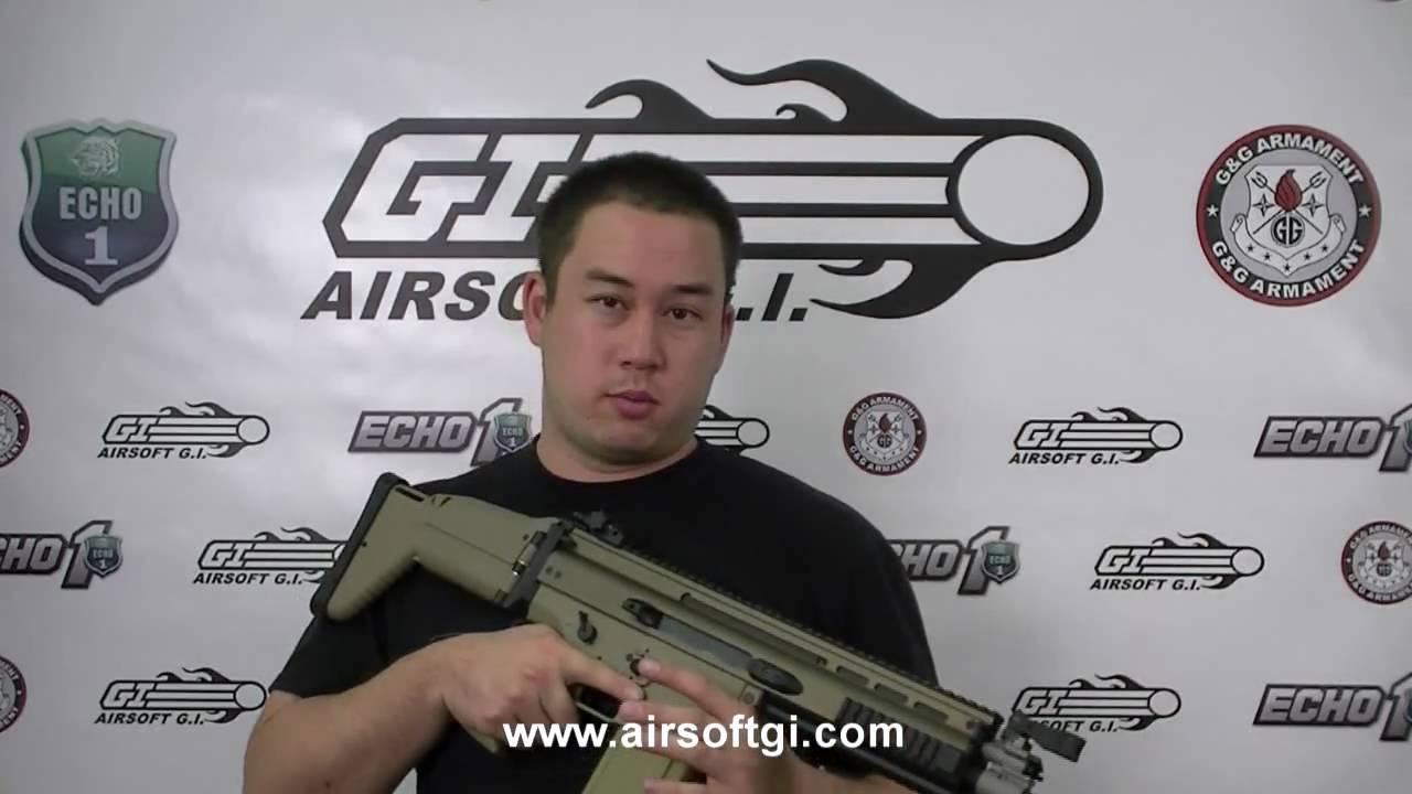 Airsoft GI – VFC SCAR-H Full Metal AEG