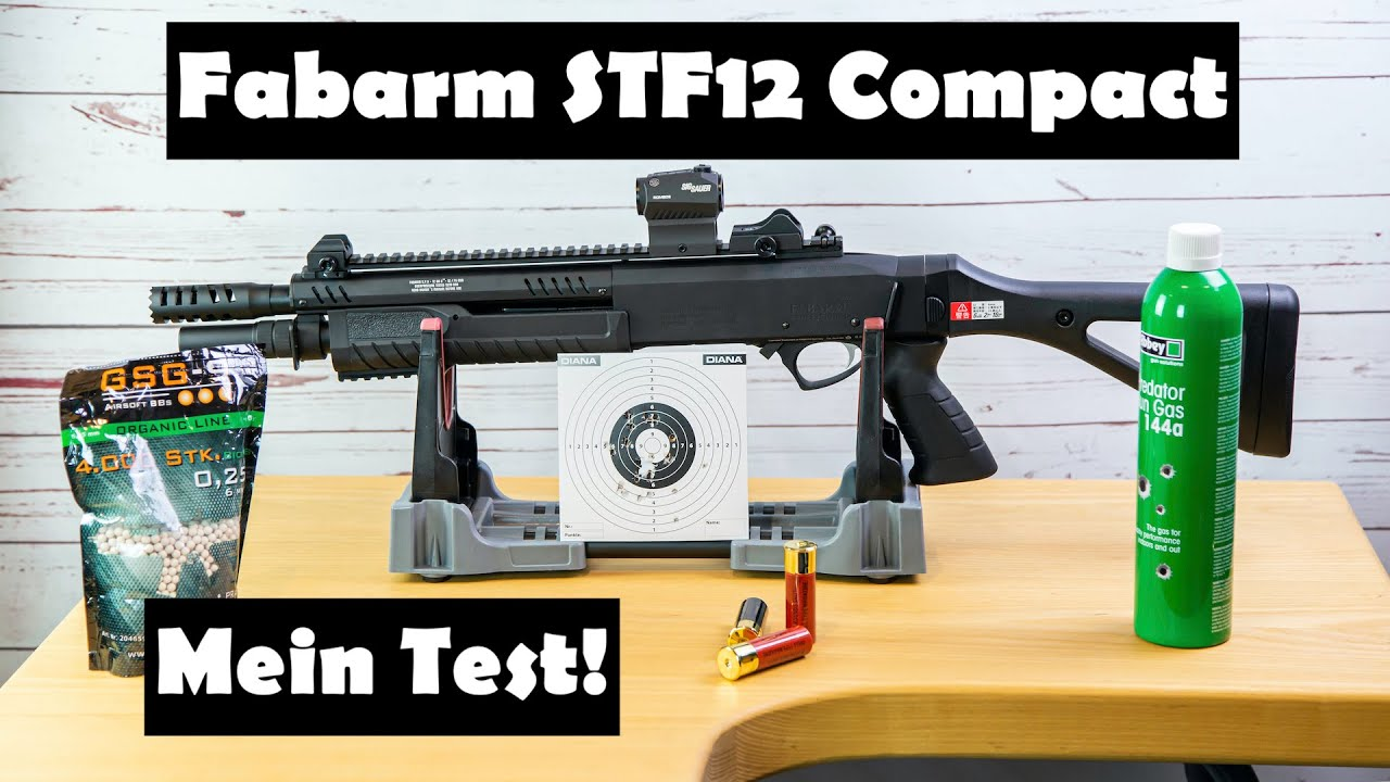 Fabarm STF 12 Compact Airsoft Pumpgun – mon avis et test