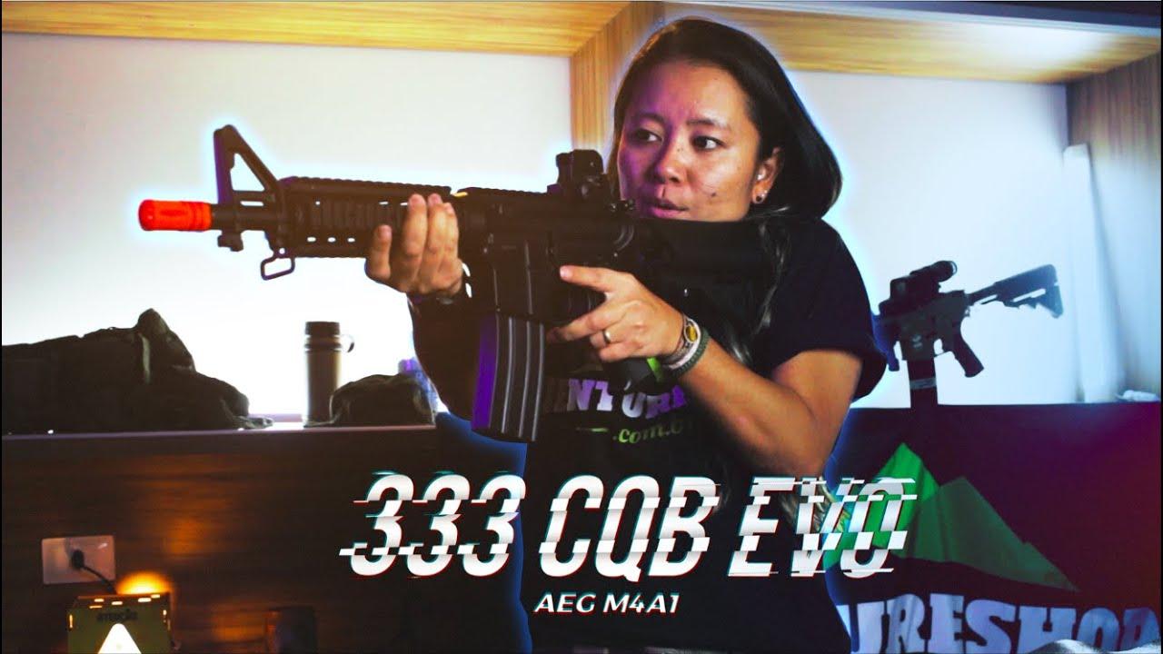 M4A1 EVO 333 CQB – Airsoft AEG [Review]