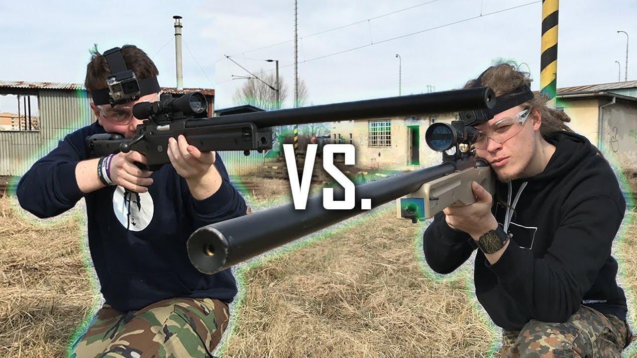 1 contre 1 – Airsoft Duel avec menameselassie