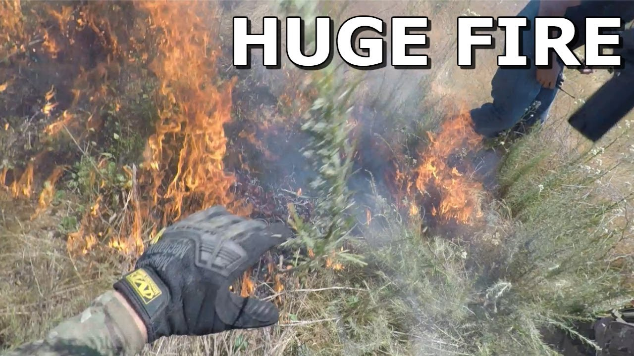 Airsoft Field sur FIRE !!! DOIT REGARDER LE Gameplay Crazy Airsoft!