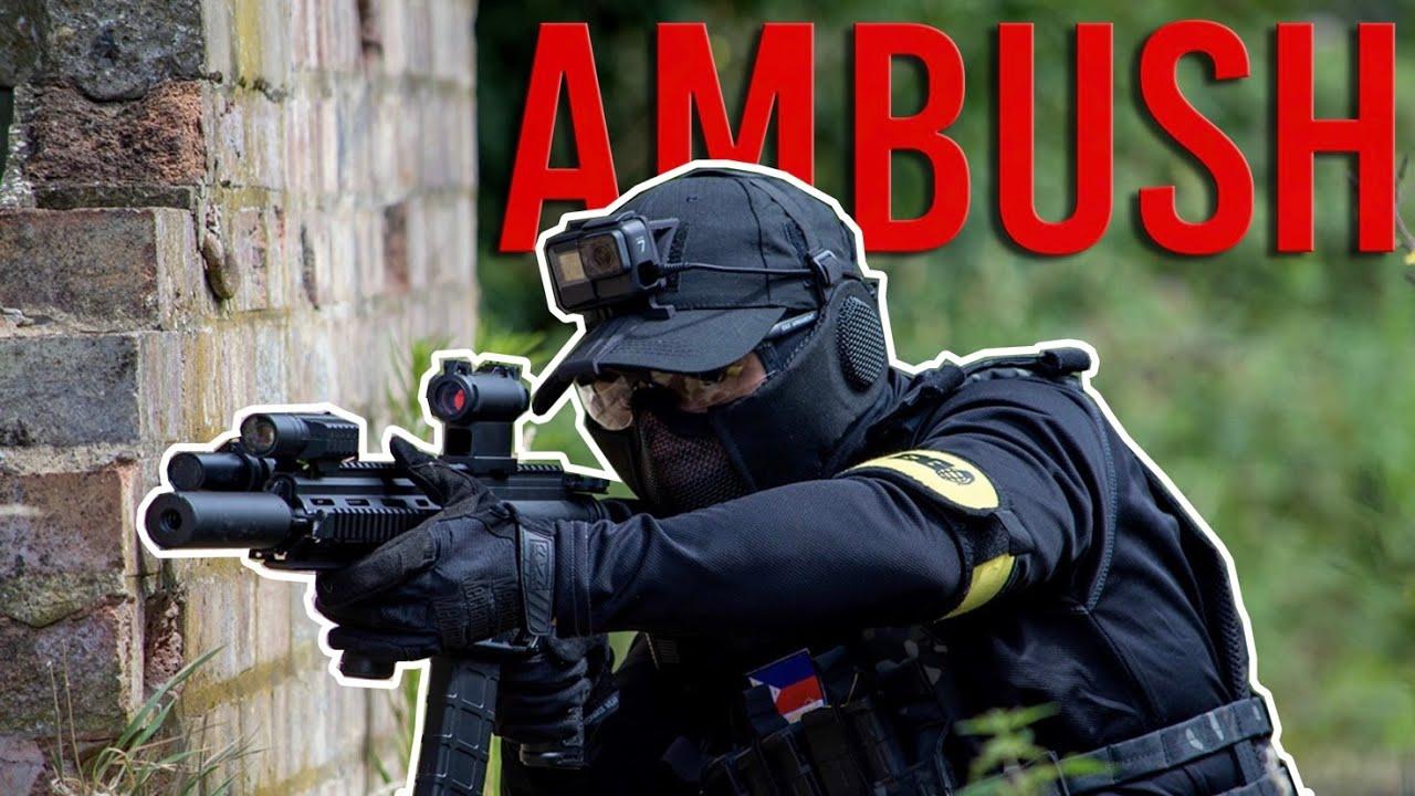 AMBUSH INTENSE Airsoft dans les bois