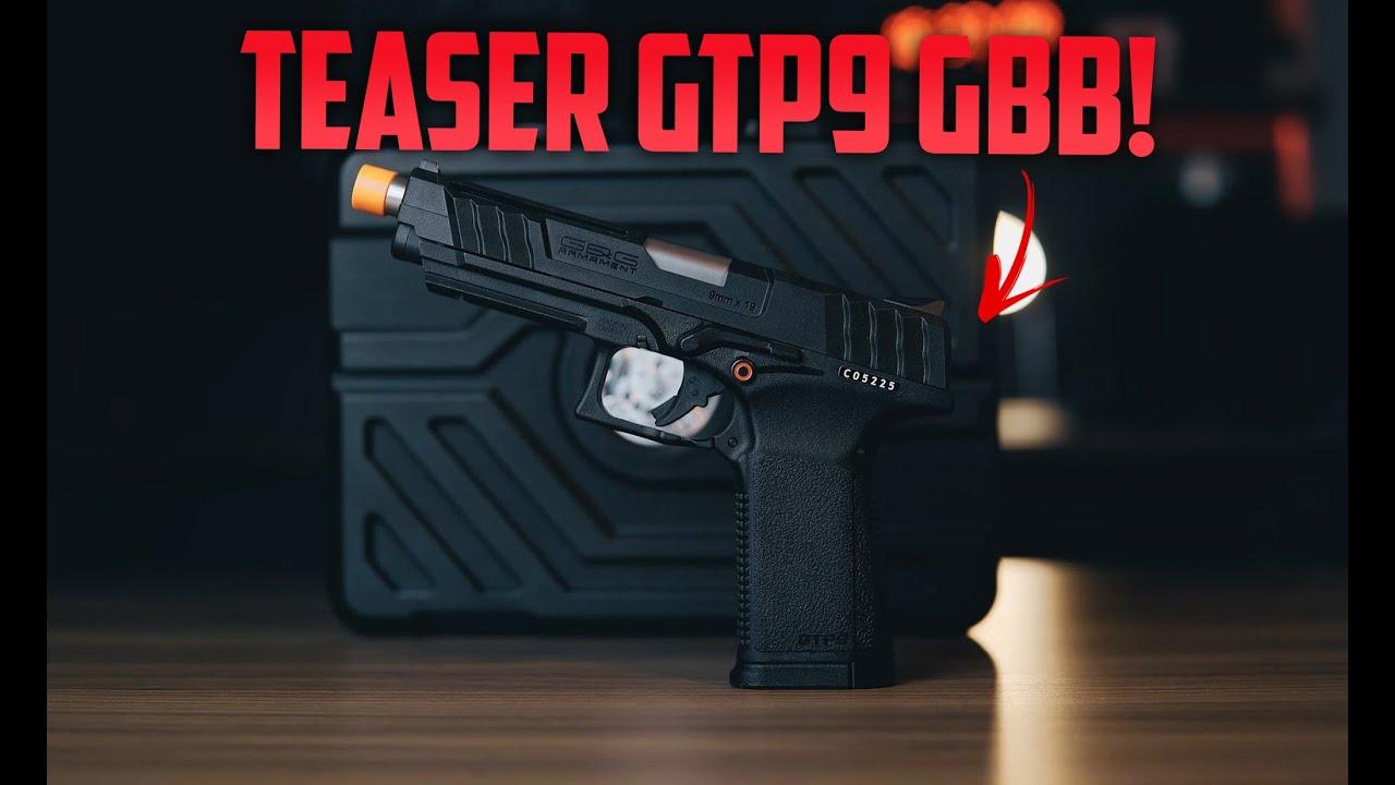 Airsoft GBB G&G Armament GTP9 Teaser – #FALCONARMAS