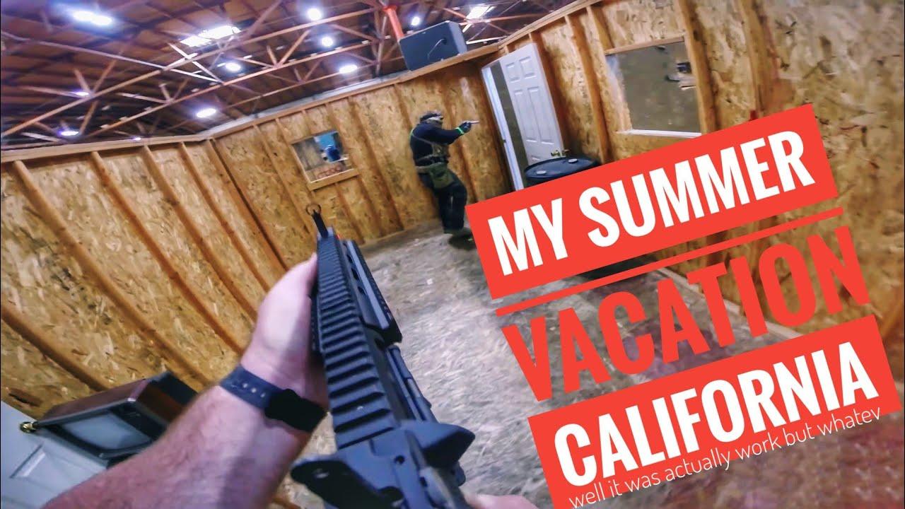 Mes vacances d'été – Airsoft California