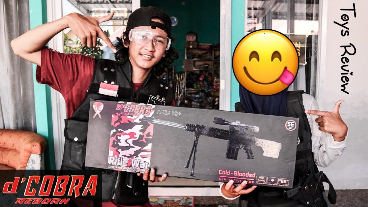 """Sniper Riffle SR25 d 'COBRA REBORN – Examen de Toys """"Airsoft"""""""