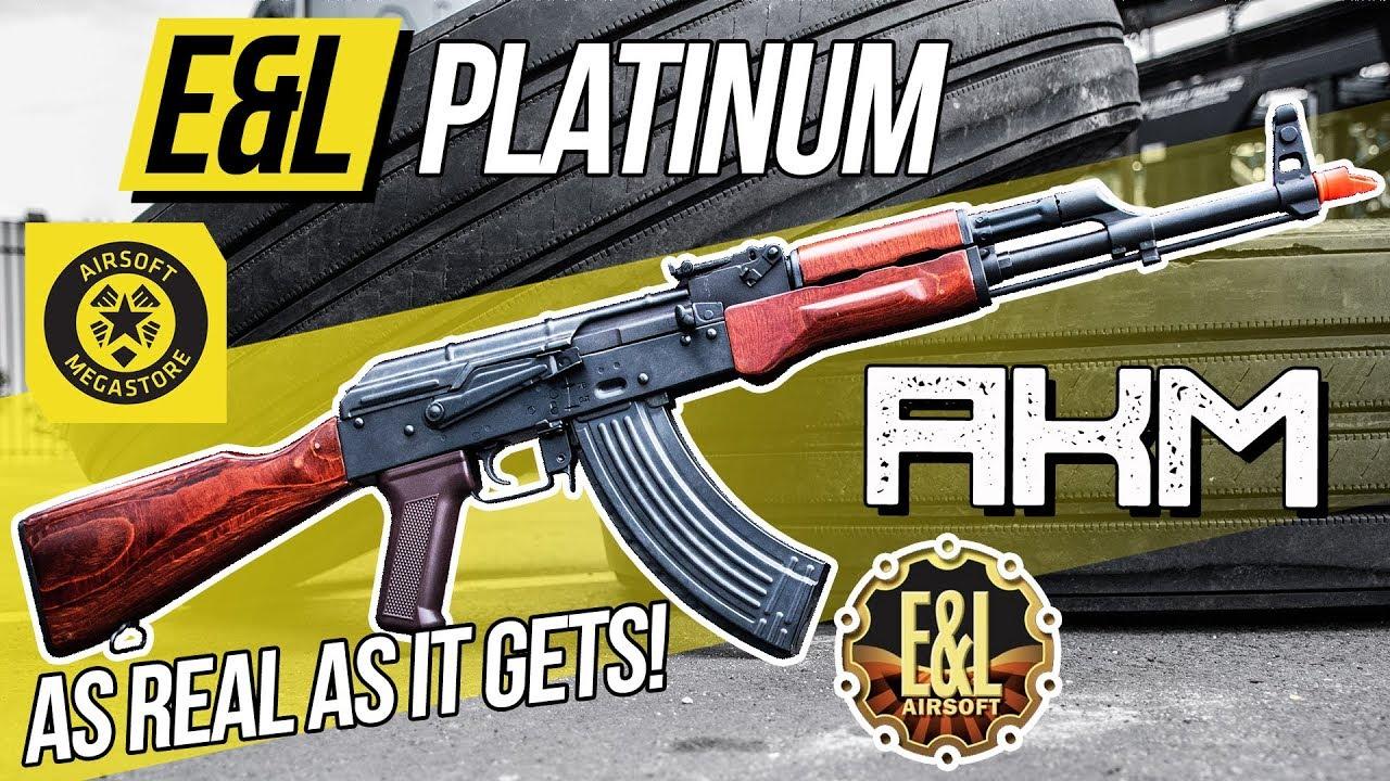 L'AK le plus réaliste de tous les temps? | E&L Platine AKM AEG | Revue complète Airsoft Megastore
