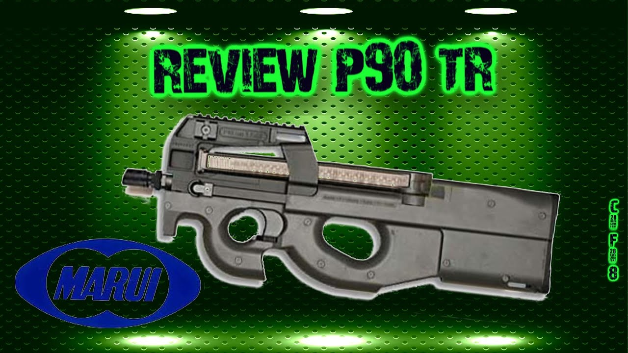 [Airsoft review] P90 TR TOKYO MARUI