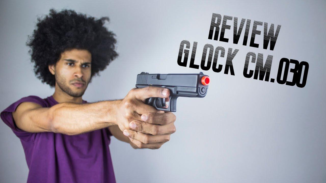AIRSOFT   Évaluer Glock CM 030   Glock 18C Cyma   Anvil76
