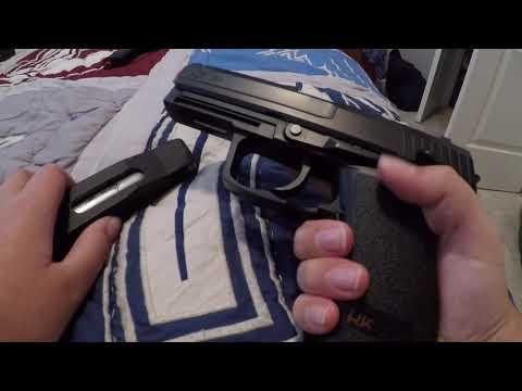 Un examen sur le pistolet airsoft HK USP