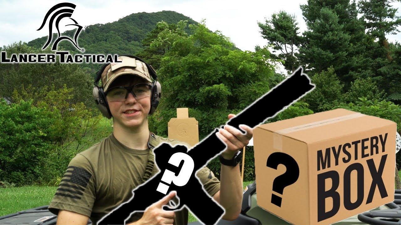 Lancer le déballage de la boîte mystère tactique!