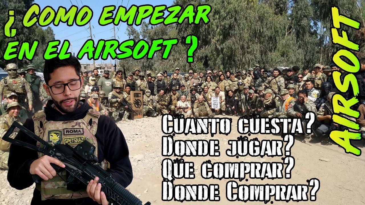 Comment se lancer dans l'airsoft? Quoi et où acheter? – pour les débutants – Roma Airsoft Peru en espagnol