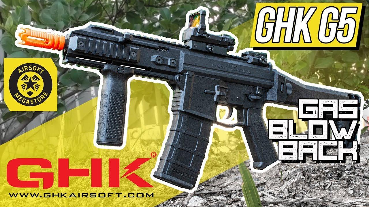 Petit mais mortel | Fusil à essence GHK Strong Kick G5 | Revue complète Airsoft Megastore