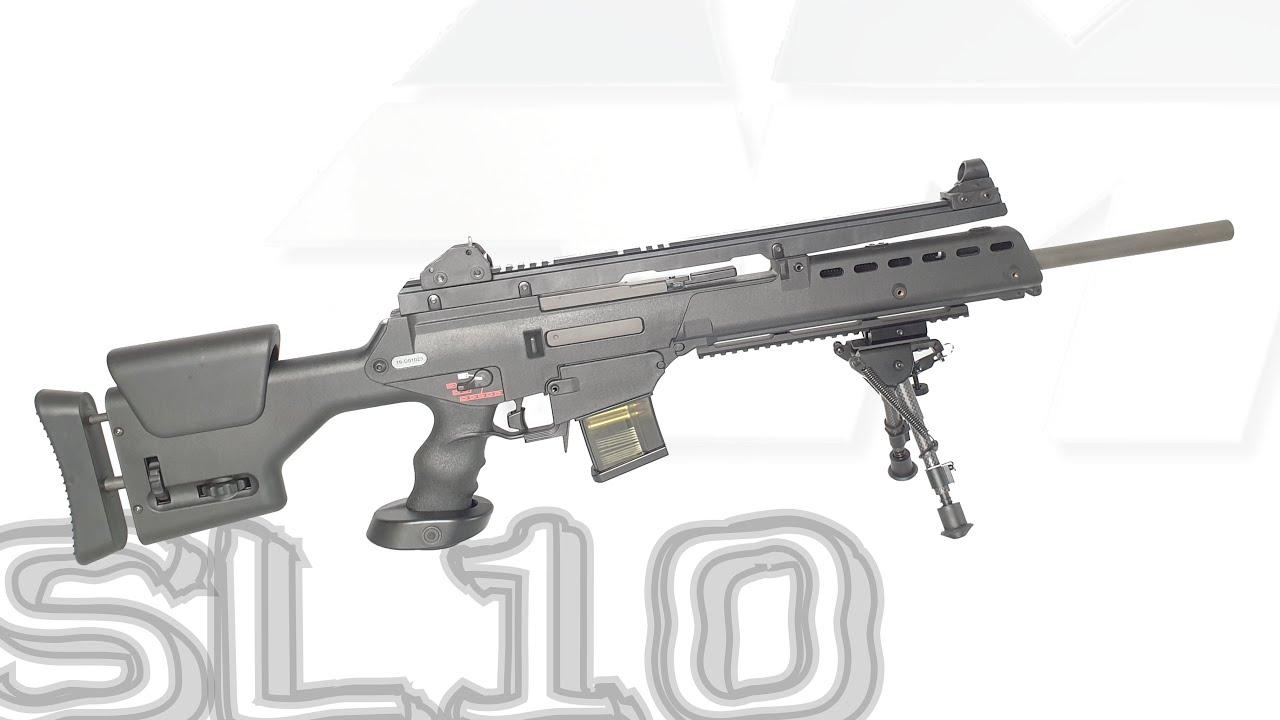 ARES SL10 / BLOWBACK ÉLECTRIQUE