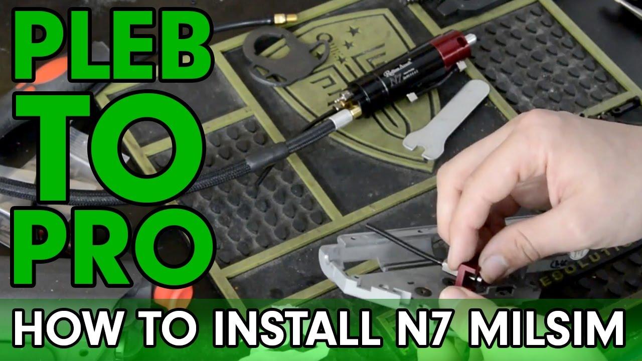 Pleb to Pro – Comment installer Redline N7 Milsim